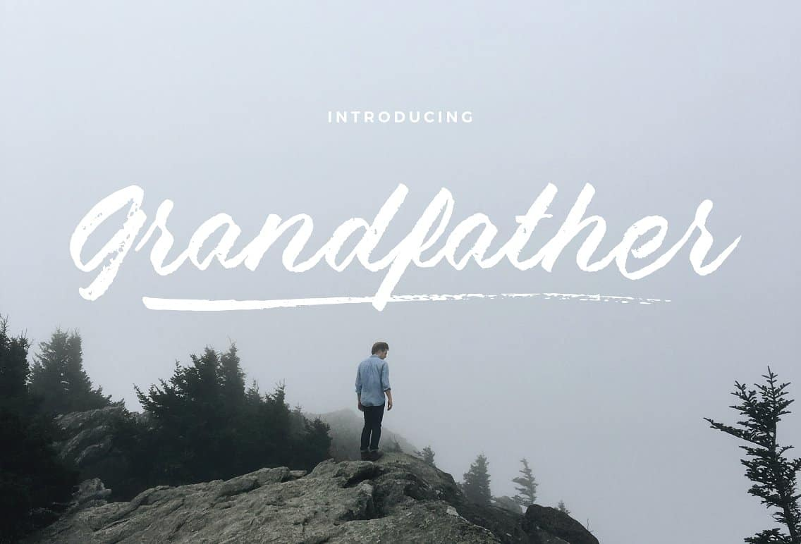 Download Grandfather font (typeface)