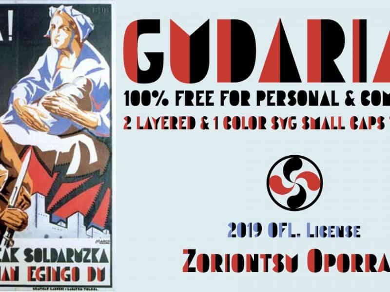 Download GUDARIAK font (typeface)