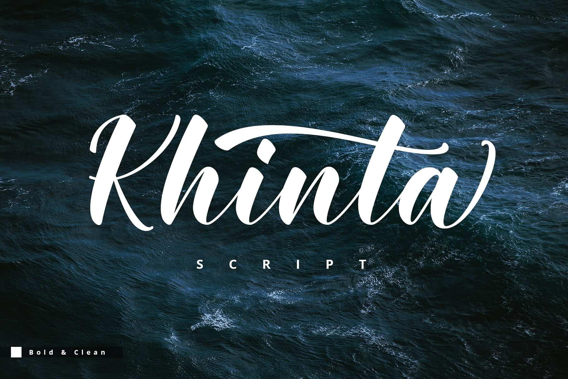 Download Khinta font (typeface)