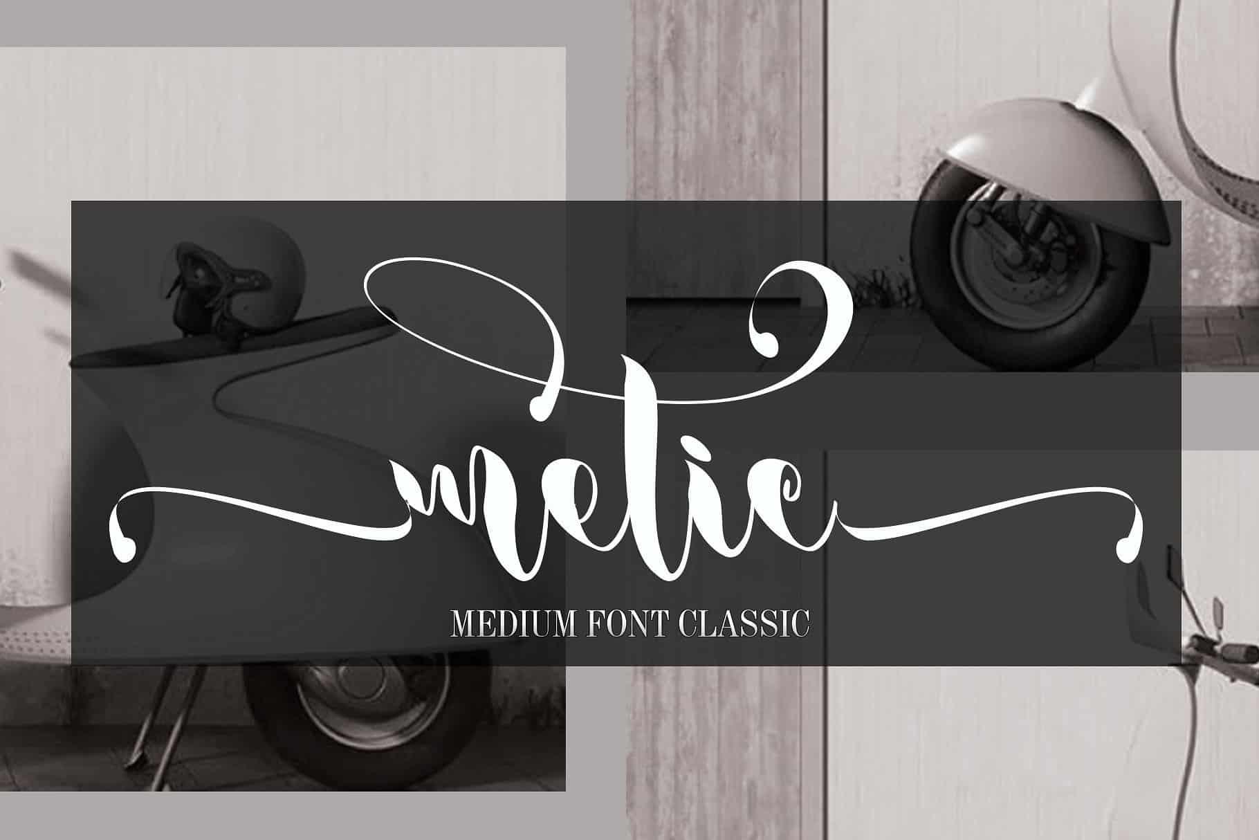 Download Metic font (typeface)