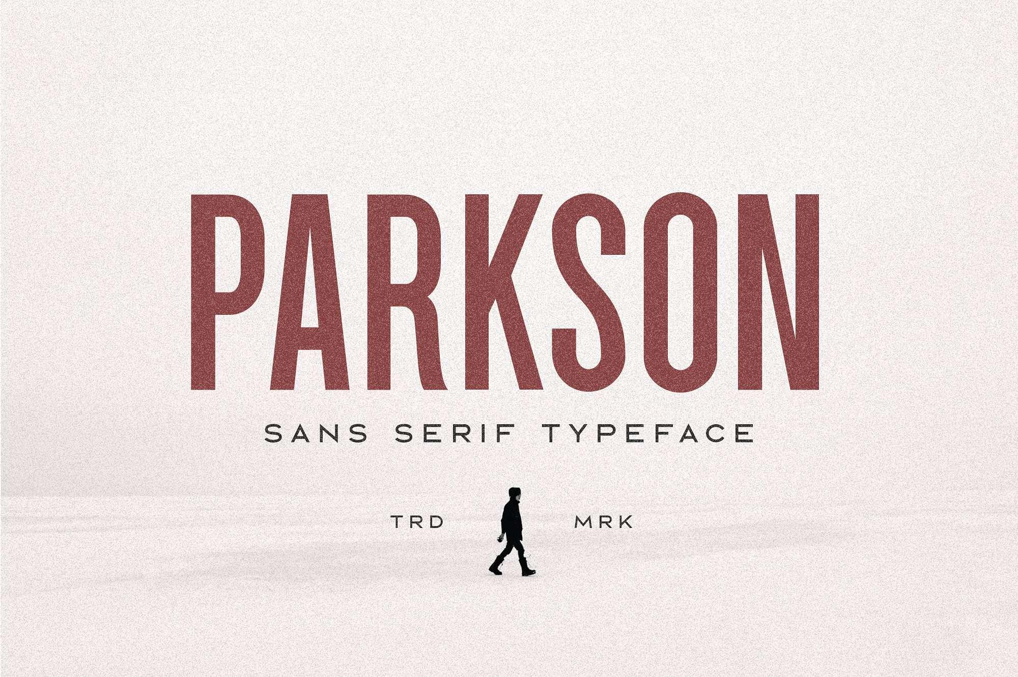Download Parkson font (typeface)