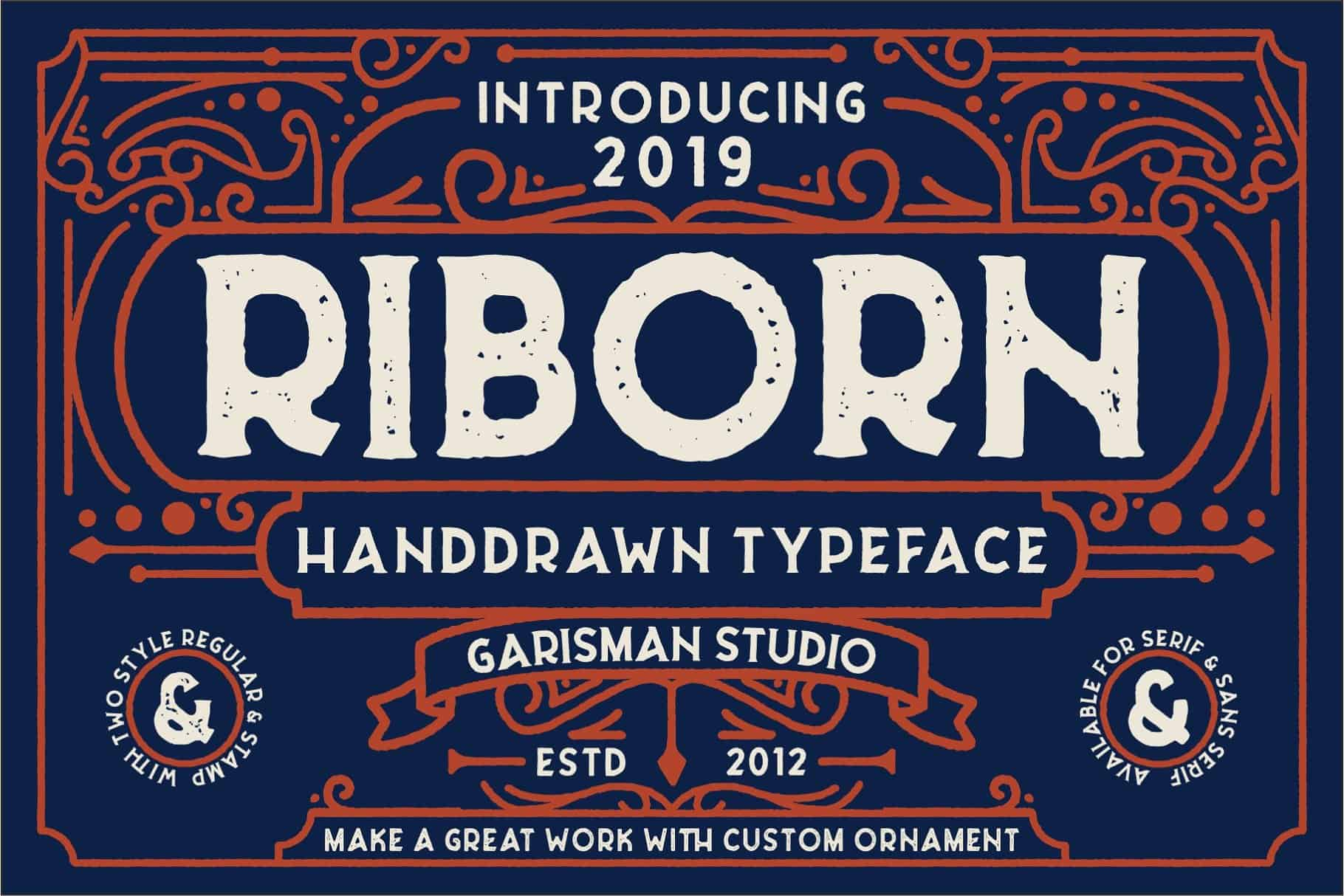 Download Riborn font (typeface)