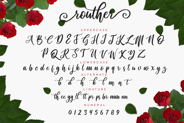 Routher шрифт скачать бесплатно