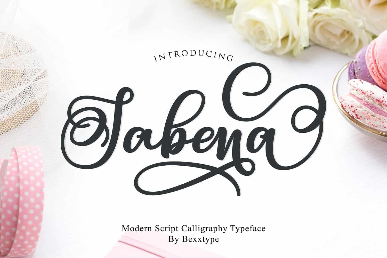 Download Sabena font (typeface)