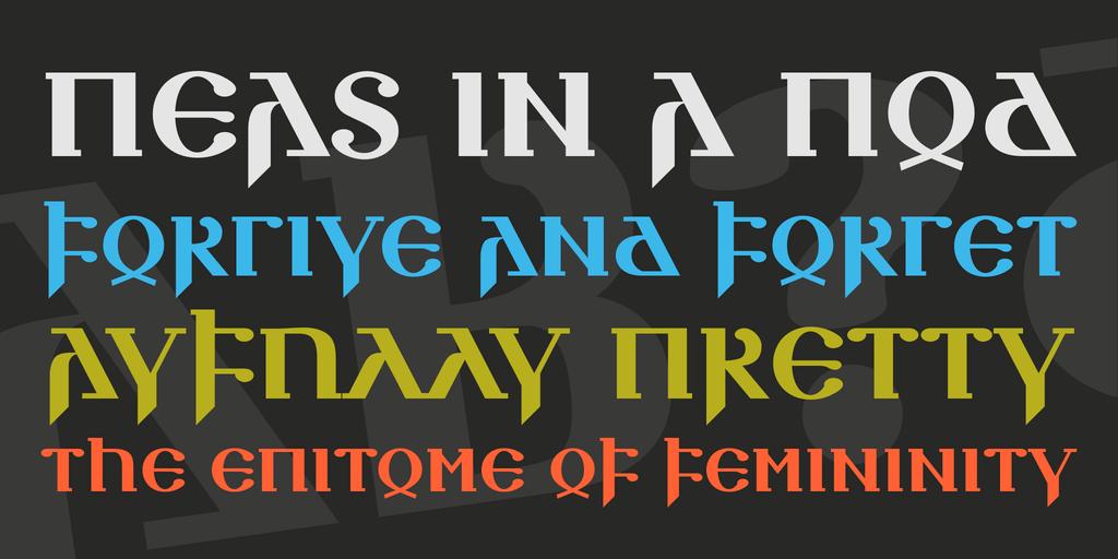Download Silubr font (typeface)