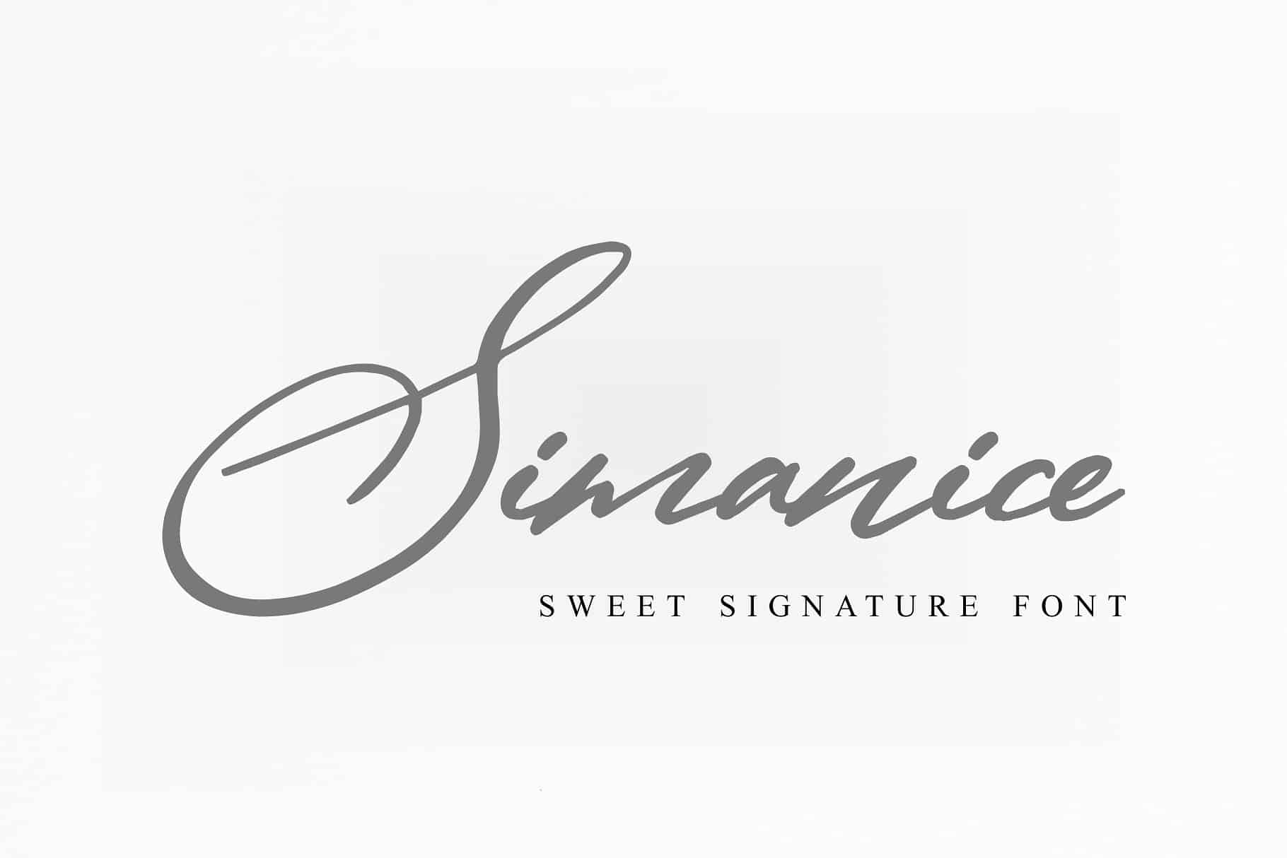 Download Simanice font (typeface)
