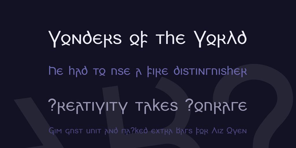 Skeirs шрифт скачать бесплатно