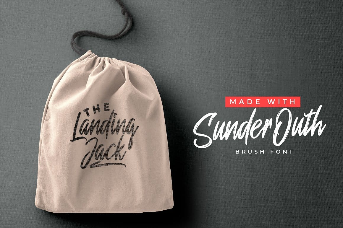 Download Sunder Outh font (typeface)