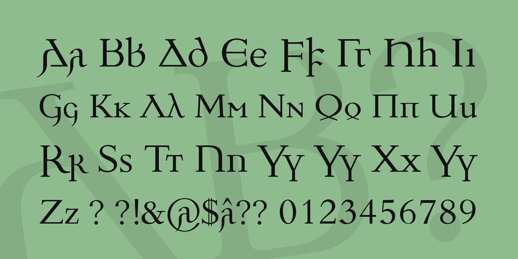 Download Ulfilas font (typeface)