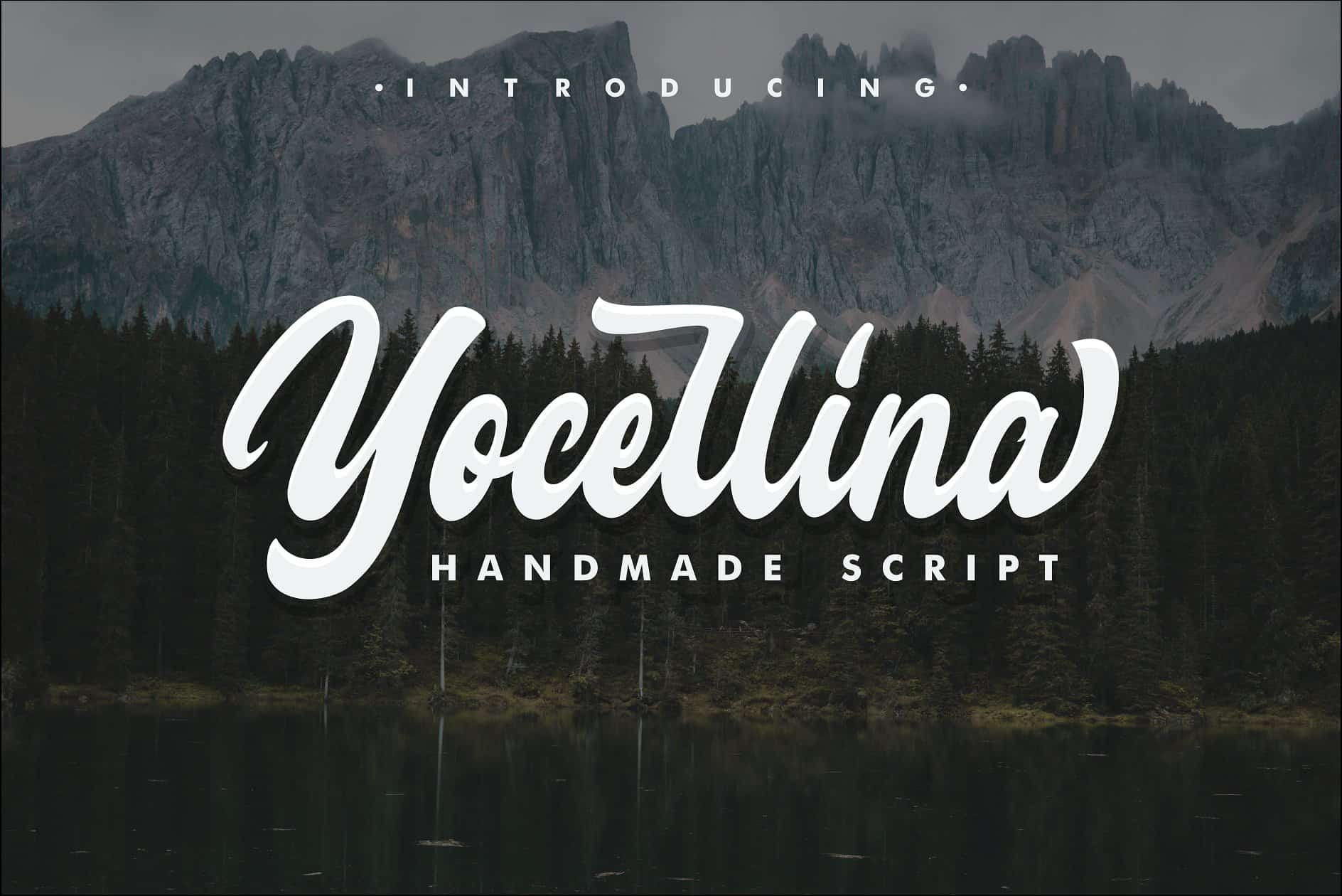 Download Yocellina font (typeface)