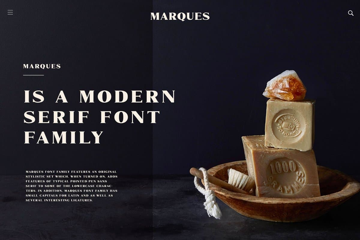 Download Marques font (typeface)
