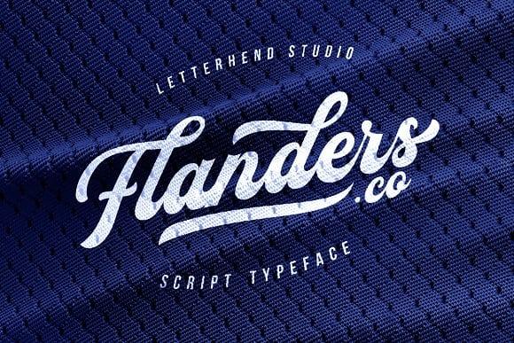 Download Flanders font (typeface)