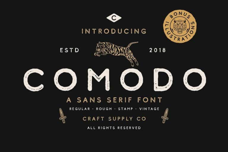 Download Comodo font (typeface)