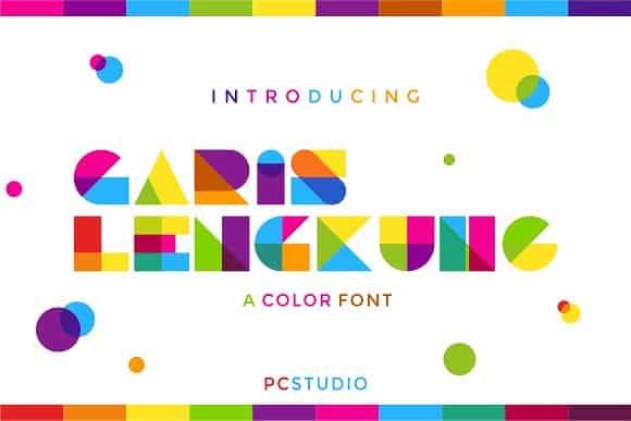 Download Garis Lengkung font (typeface)