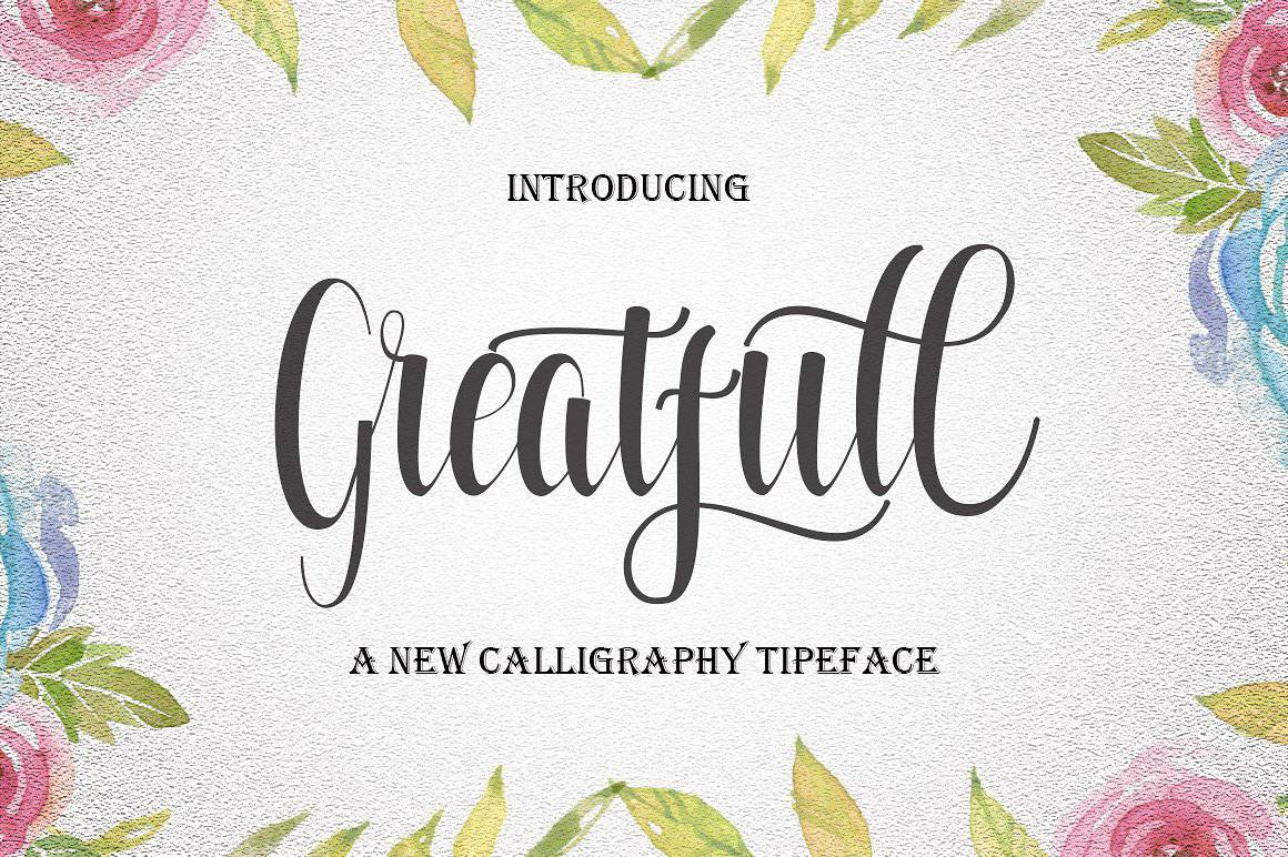 Download Greatfull font (typeface)