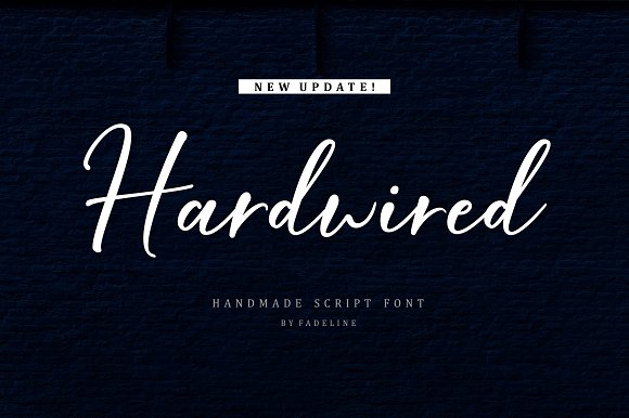 Download Hardwired font (typeface)