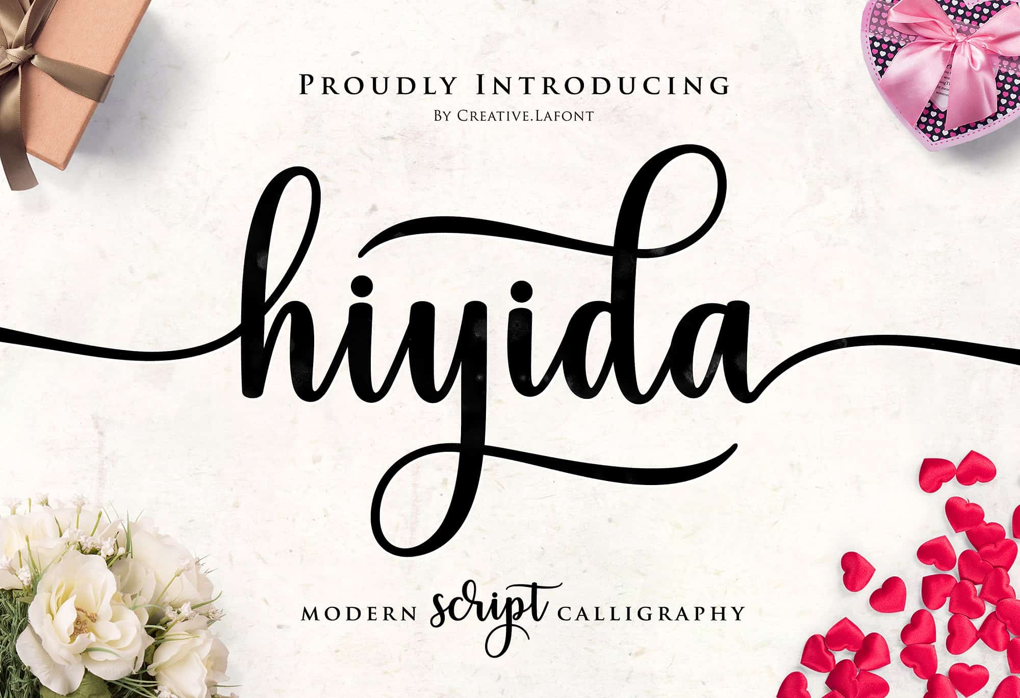 Download Hiyida font (typeface)