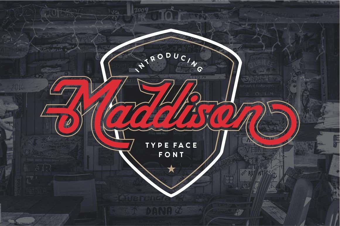 Download Maddison font (typeface)