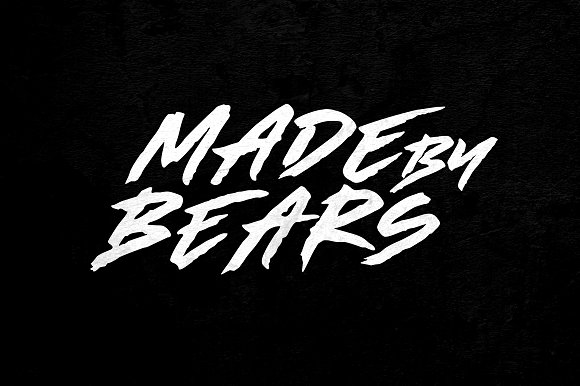 Download Made By Bears font (typeface)