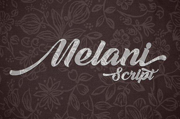Download Melani font (typeface)