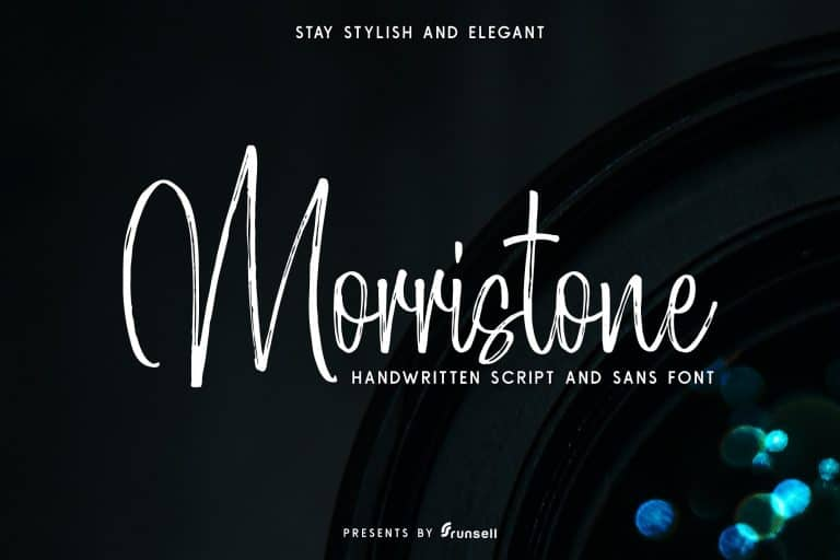 Download Morristone font (typeface)