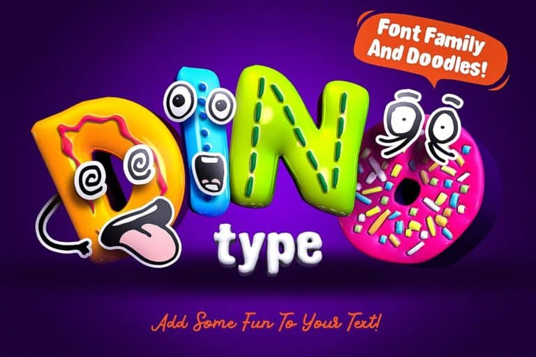 Download DinoType font (typeface)