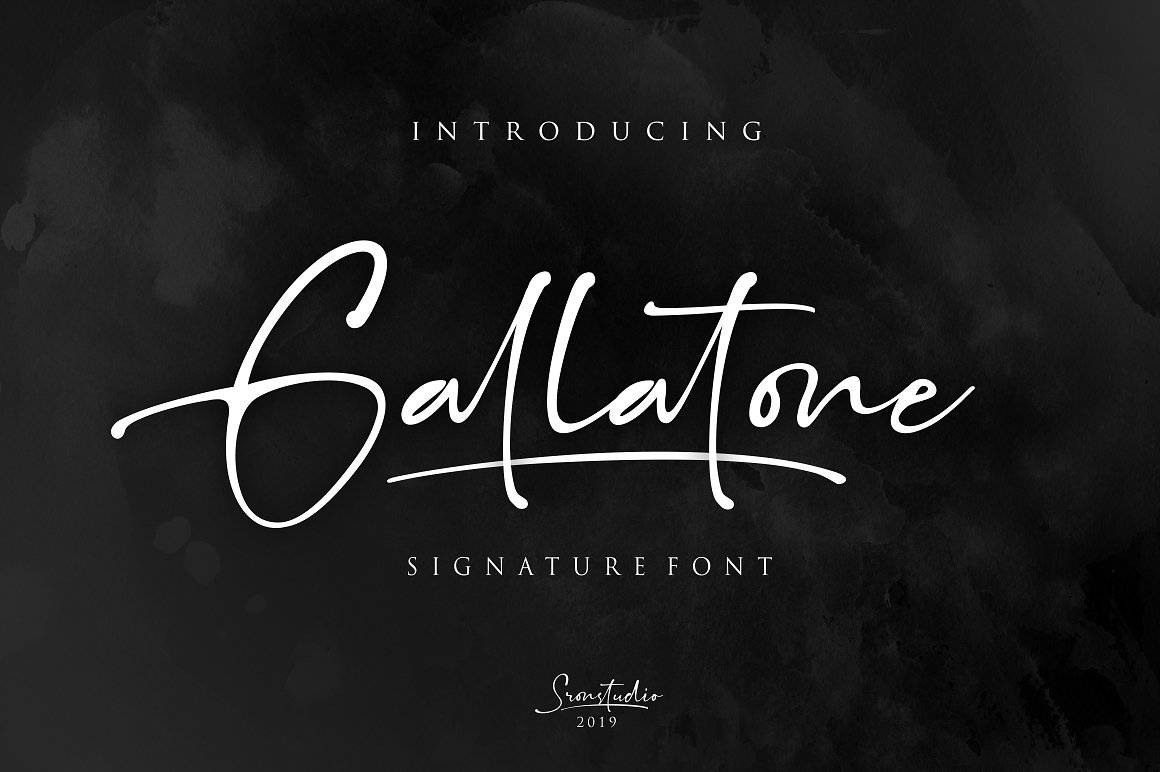 Download Gallatone font (typeface)