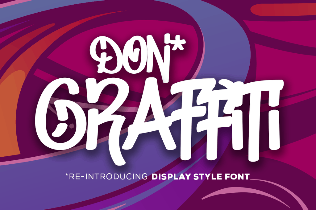 Download Don Graffiti font (typeface)