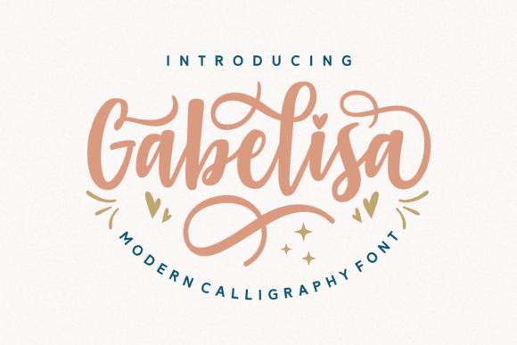 Download Gabelisa font (typeface)