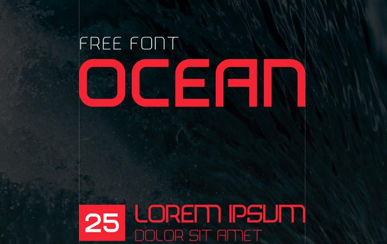 Download Ocean font (typeface)