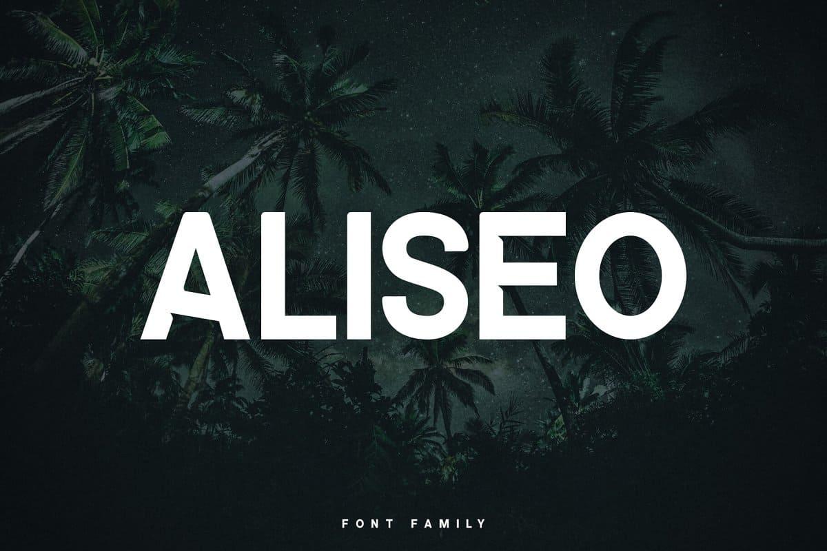 Download Aliseo font (typeface)