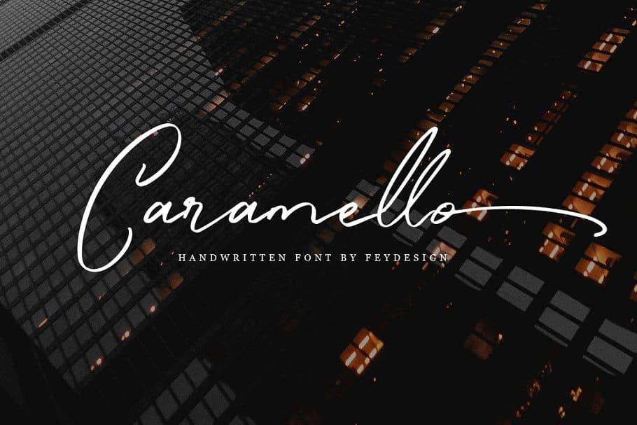 Download Caramello font (typeface)