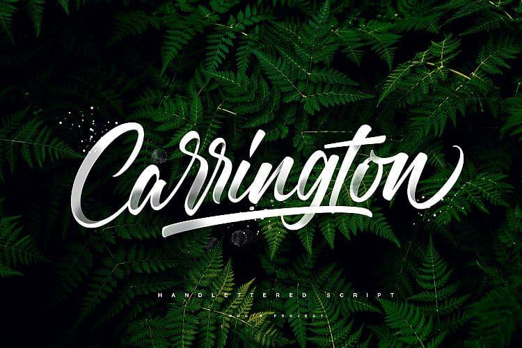 Download Carrington font (typeface)