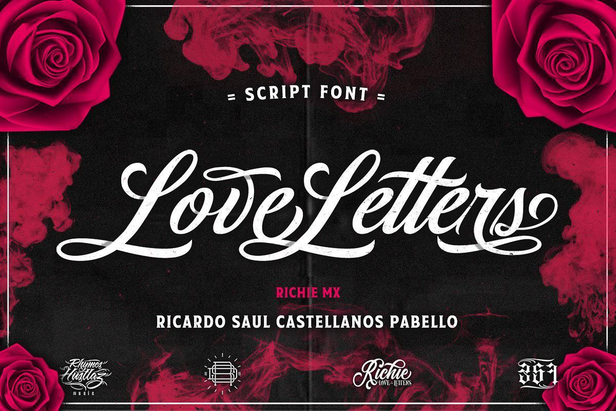 Download Love Letters font (typeface)