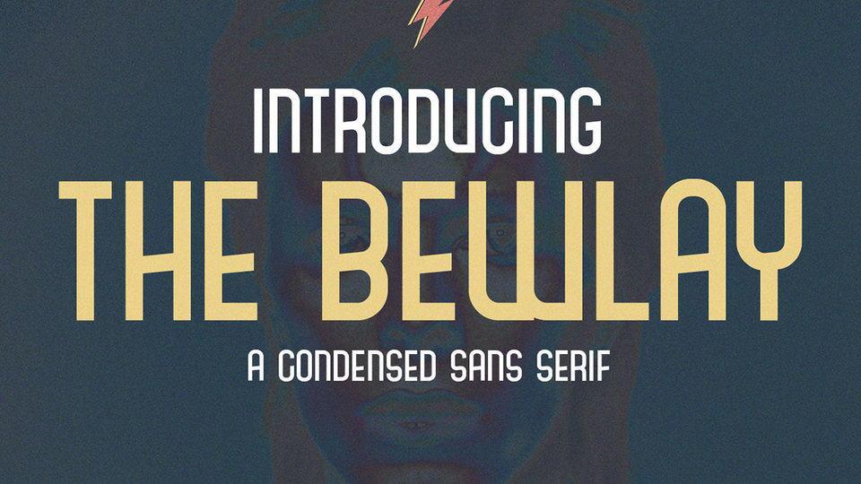 The Bewlay шрифт скачать бесплатно
