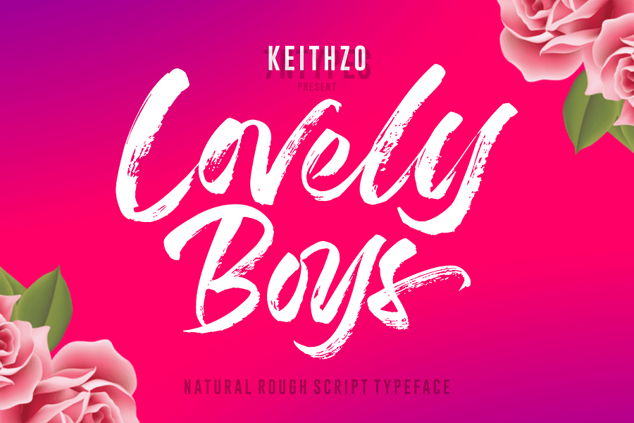 Download Lovely Boys font (typeface)