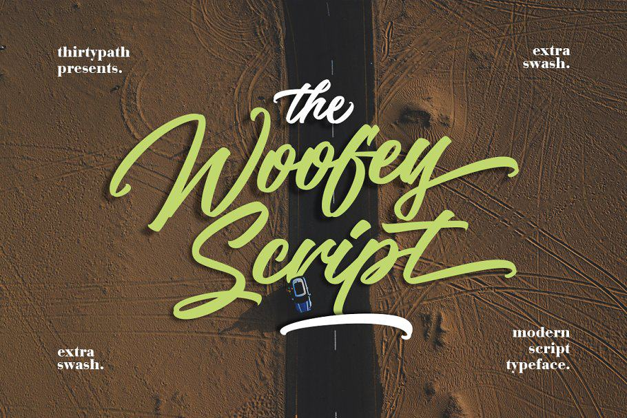Download The Woofey font (typeface)
