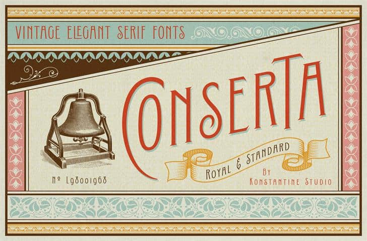 Download Conserta font (typeface)