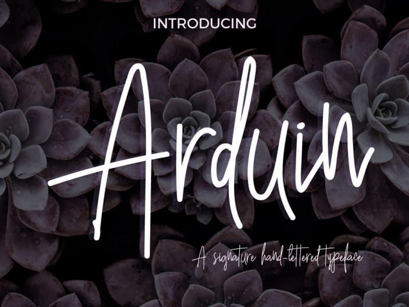 Download Arduin font (typeface)
