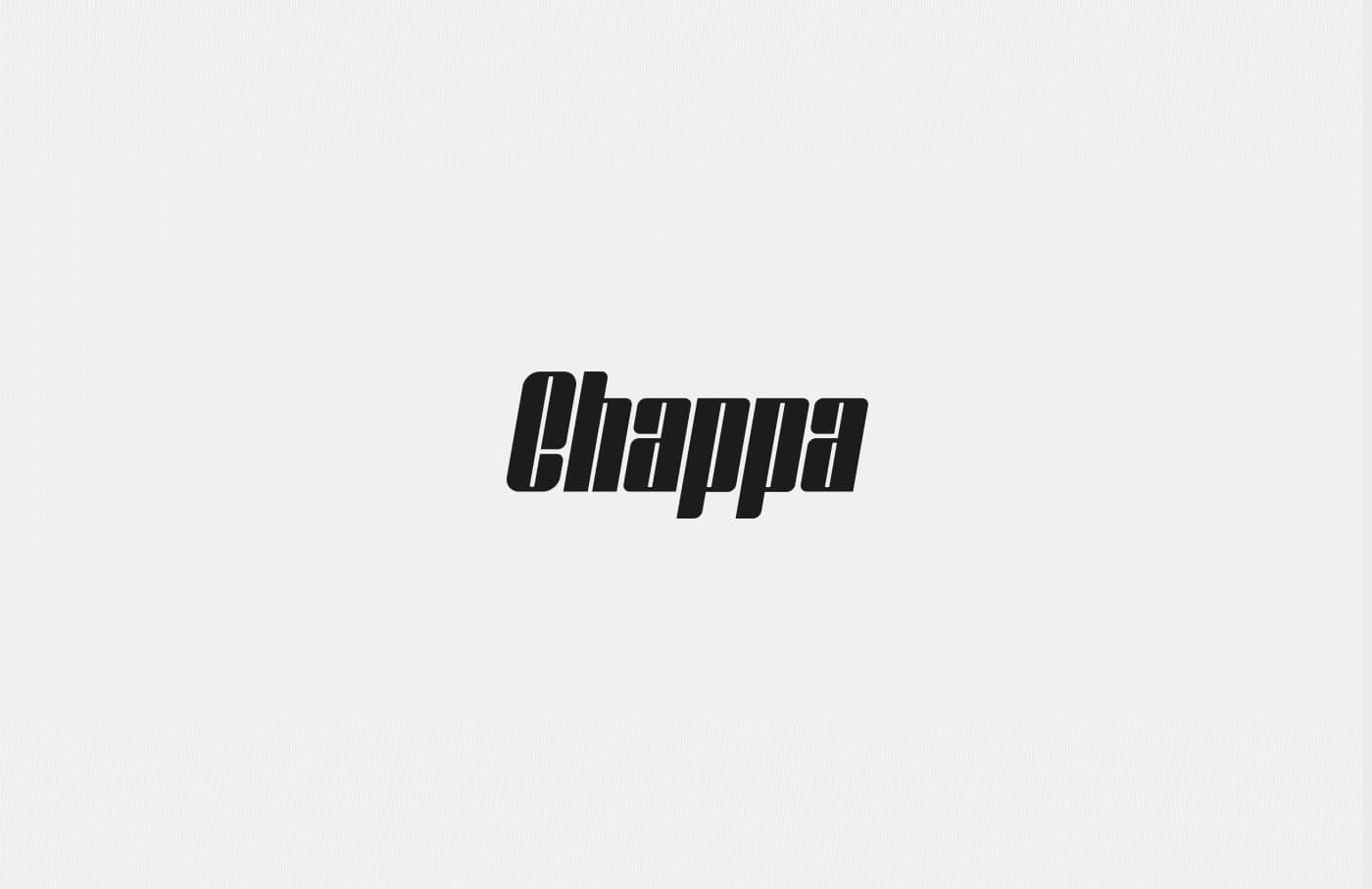 Download Chappa font (typeface)