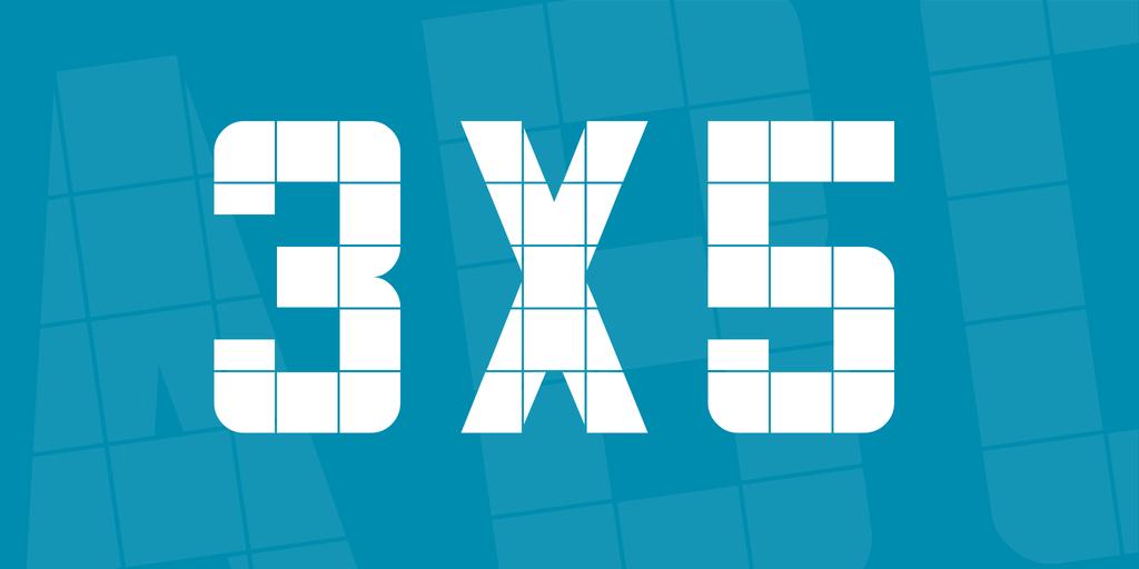 3x5 шрифт скачать бесплатно