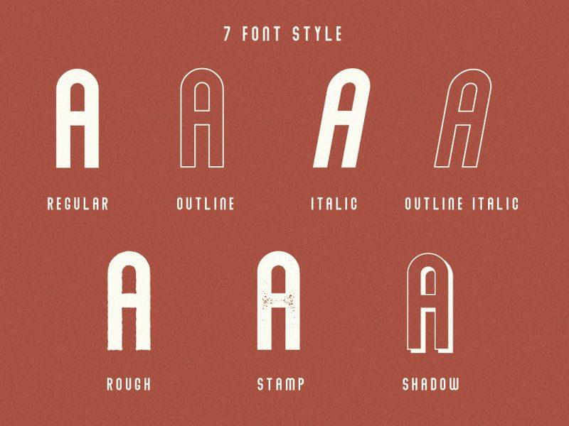 Download Abraham font (typeface)