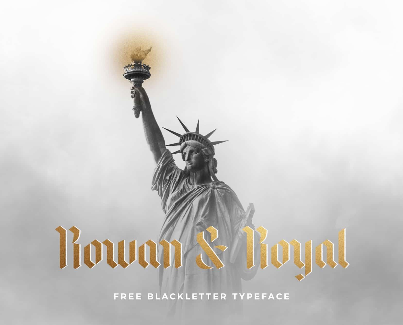 Download Rowan & Royal font (typeface)