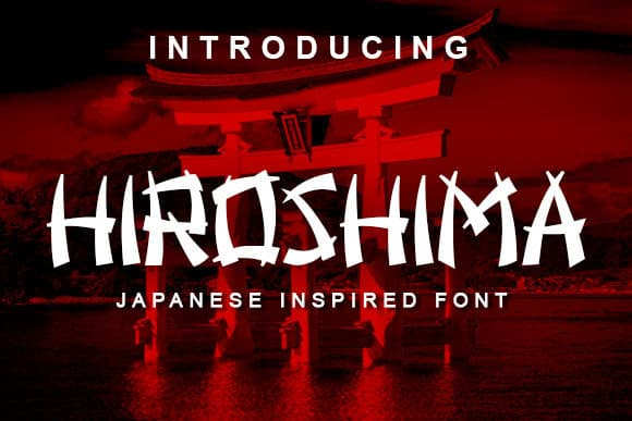 Download Hiroshima font (typeface)