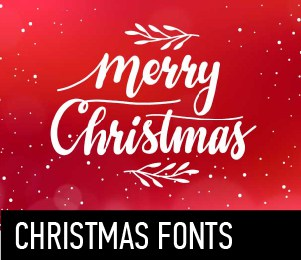 Download Christmas fonts font (typeface)