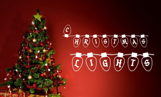 Download Christmas Lights font (typeface)