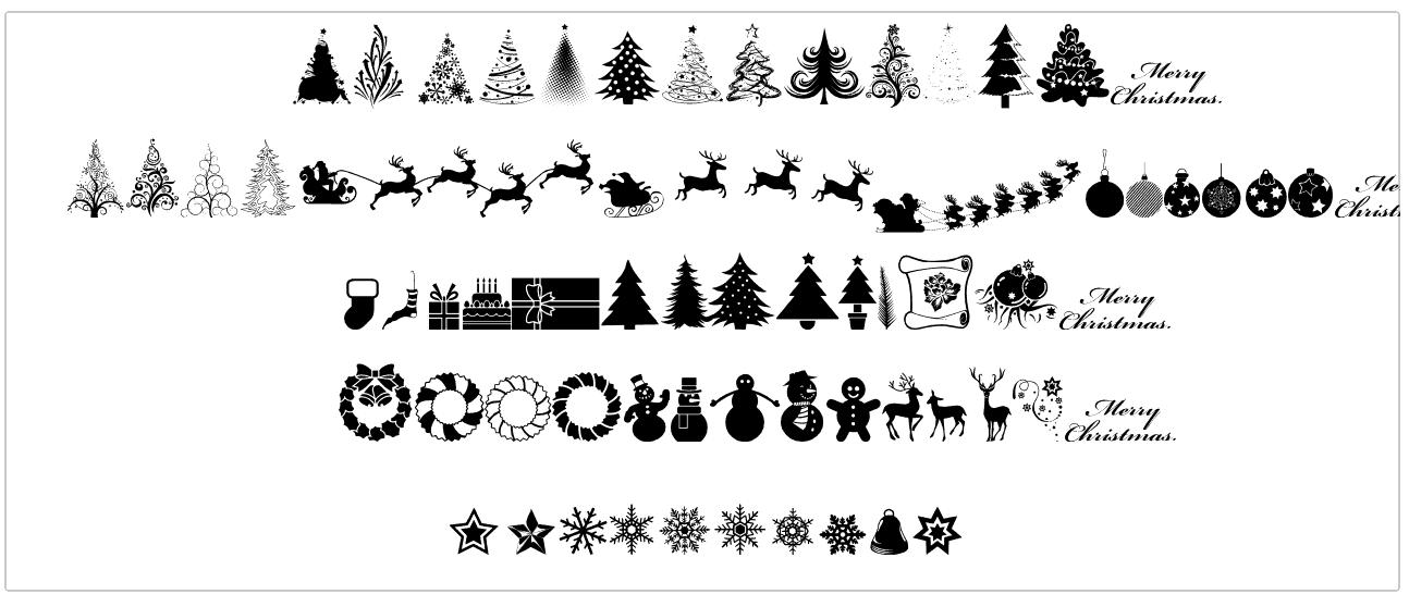 Xmas tfb Christmas шрифт скачать бесплатно