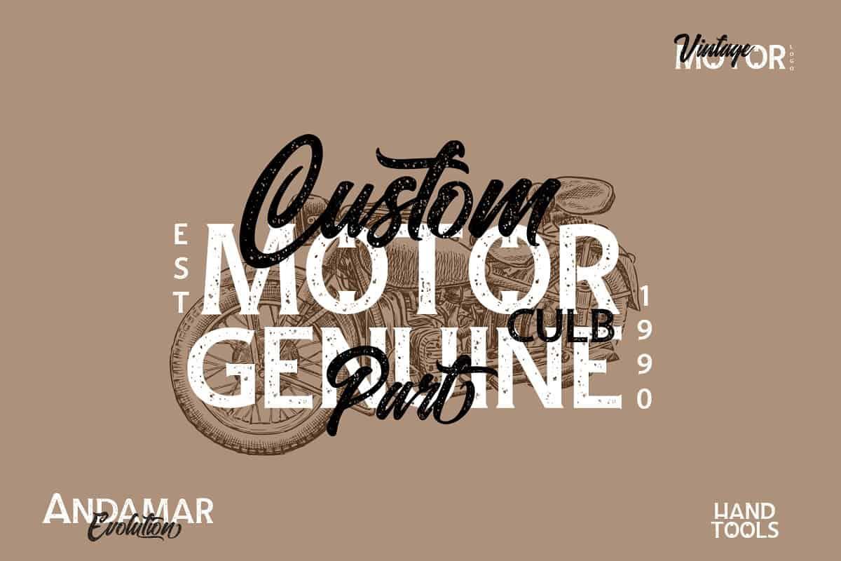 Download Andamar font (typeface)