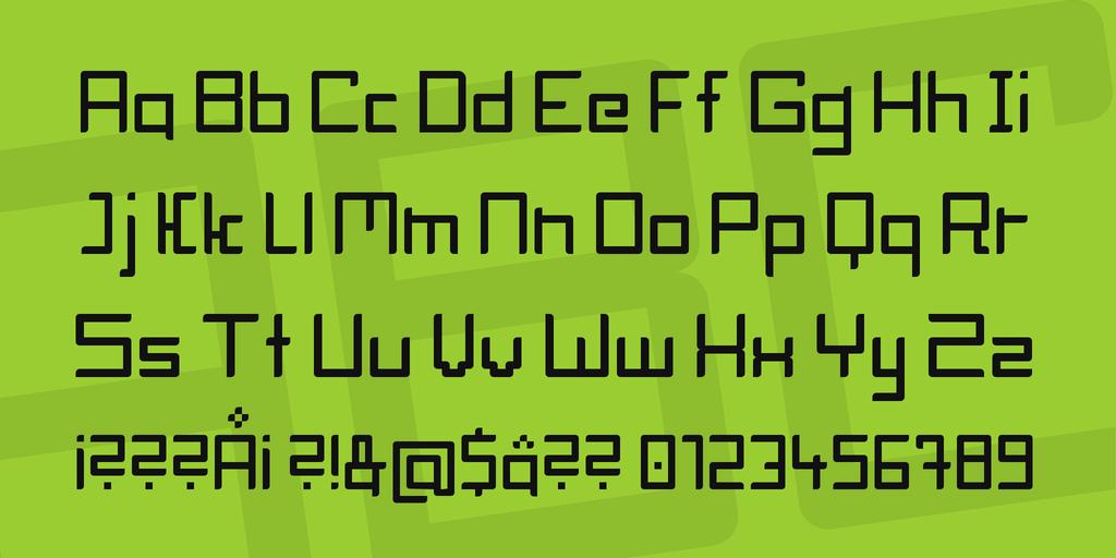 Download Block Head font (typeface)