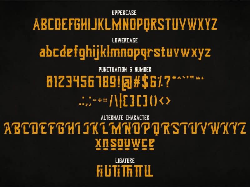 Download Dohong Kaliba font (typeface)